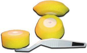 Набор Валик угловой поролон желтый, 3 шт.