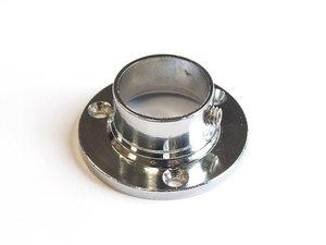 Муфта круглая, с фиксатором, для трубы 25 мм, цинковый сплав