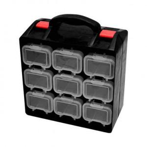 Ящик для крепежа двухсекционный