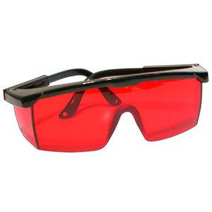 Очки защитные, красные линзы
