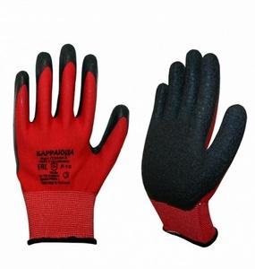 Перчатки с песочным покрытием REES красные