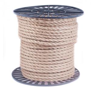 Веревка крученая джутовая
