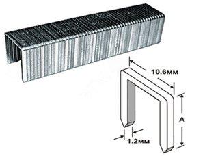 Скоба для степлера тип 140 (1000шт.)