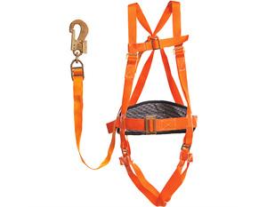 Пояс монтерский ПП II-АЖ (УС II-АЖ) строп лента с наплечными и набедренными лямками