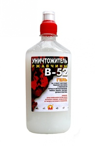 Уничтожитель ржавчины В-52 (гель)