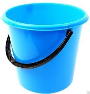 Ведро хозяйственное пластиковое