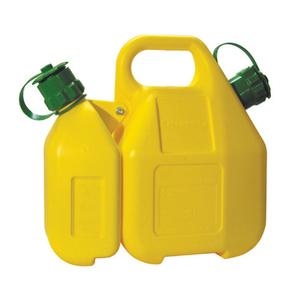 Комбинированная канистра для бензина и масла
