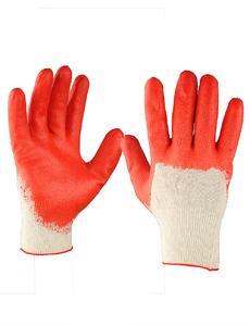 Перчатки хлопчатобумажные обливные