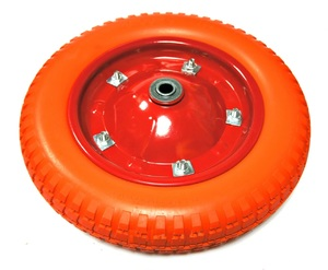 Колесо полиуретановое, внутр. диам. 16 мм