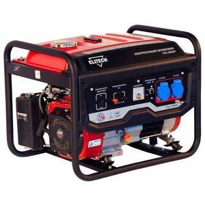 Генератор бензиновый ELITECH БЭС3000РМ 2500W, 10A, 2x220V+12V, 18л, 45кг, бак на 14 часов