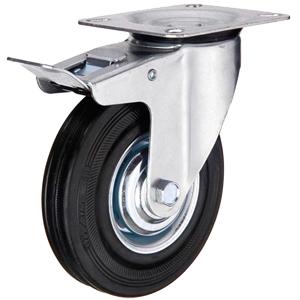Колесо промышленное поворотное с тормозом тип SCb