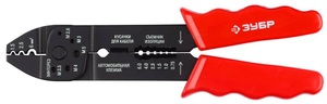 Электропассатижи, съемник 0,8-2,6мм, кусачки, обжим наконечников, винторез, 230мм